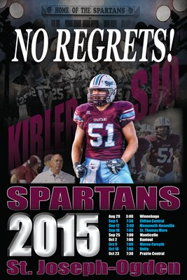 2015 SJO Football Schedule : Kibler