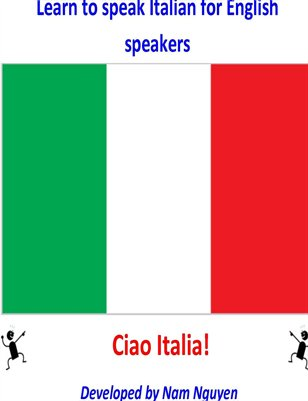 Learn to Speak Italian for English Speakers