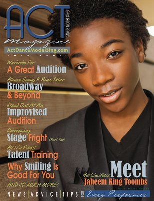 ACT Dance Model Sing Magazine Issue 22