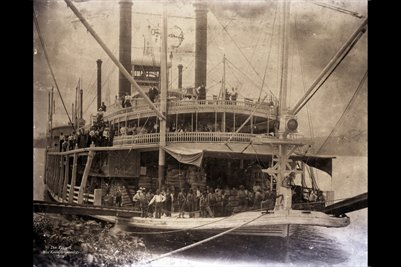 """City of Cairo"" Steam Boat"