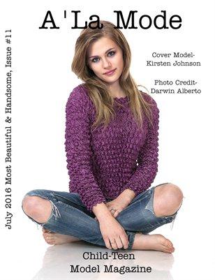 Issue#11 A'La Mode Child-Teen Model Magazine