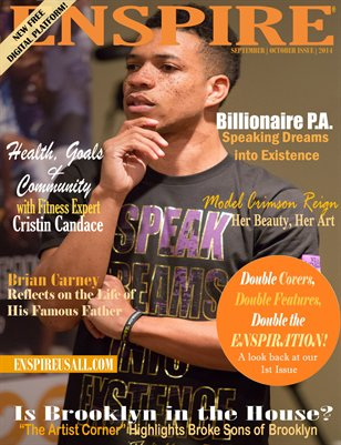 ENSPIRE MAGAZINE - SEPTEMBER | OCTOBER ISSUE 2014