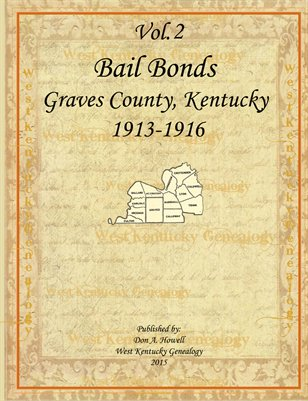 Vol.2 1913-1916 Bail Bonds, Graves County, Kentucky