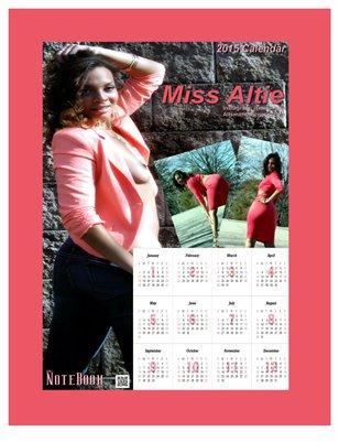 Miss Altie 2015 Poster Calendar