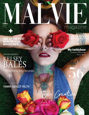 MALVIE Mag The Creative Artist Vol. 26 JULY 2020