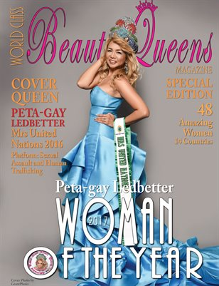 Woman of the Year 2017 Issue 1 with Peta-gay Ledbetter