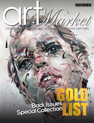 Art Market Magazine Issue #63 GOLD LIST Back Issues Special Collection