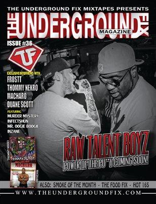 The Underground Fix Magazine Issue #36