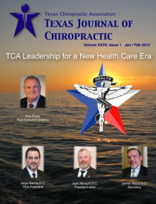 Texas Journal of Chiropractic, Jan/Feb 2012
