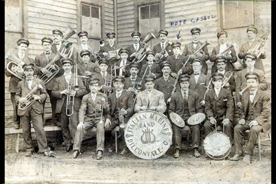 Italian Marine Band Photograph 2, Dillonvale, Jefferson County, Ohio