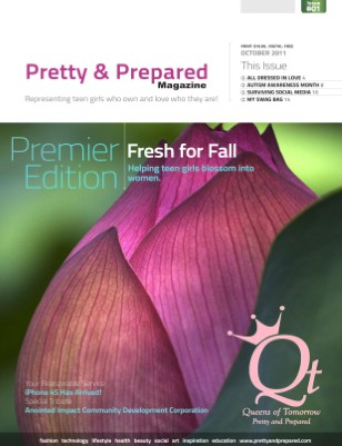 Pretty and Prepared Magazine October 2011