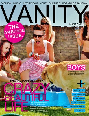 Vanity magazine The Ambition Issue (cover two)