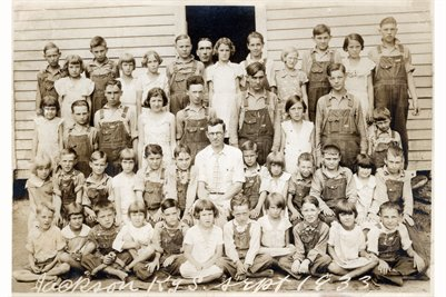 1933 Jackson School. Marshall County, Kentucky