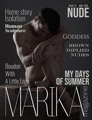 MARIKA MAGAZINE NUDE (June - issue 53) 18+