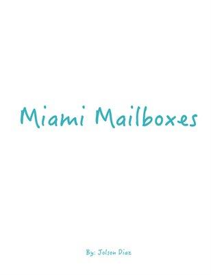 Miami Mailboxes