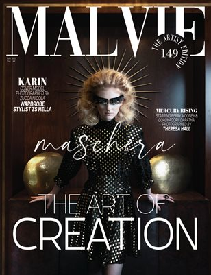 MALVIE Magazine The Artist Edition Vol 149 February 2021