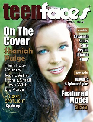 Teen Faces Fall 2014