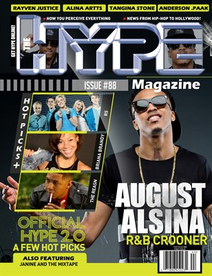 Issue #88 August Alsina #OfficialHype 2.0