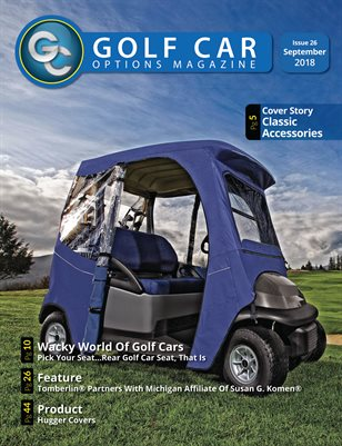 Golf Car Options Magazine - September 2018
