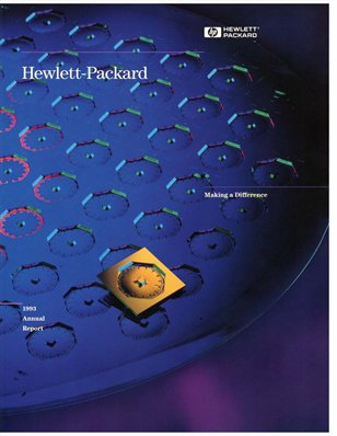 HP Annual Report 1993