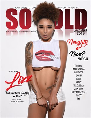 "SO KOLD MAGAZINE ""NAUGHTY OR NICE"" LIZZ"