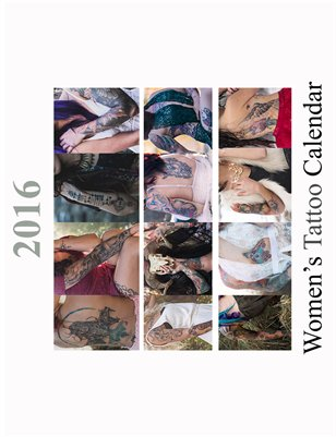 2016 Women's Tattoo Calendar