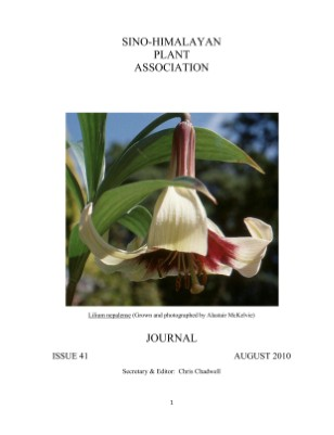Issue 44: Sino Himalayan Plant Association