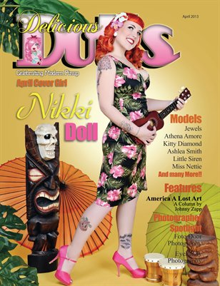 Delicious Dolls April Issue - Nikki Doll Cover