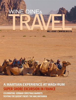 WINE DINE & TRAVEL WINTER 2015-16