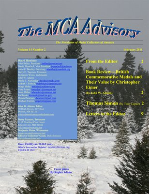 MCA Advisory Volume 14  No. 2