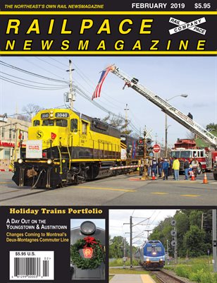 2019-02 February 2019 Railpace Newsmagazine