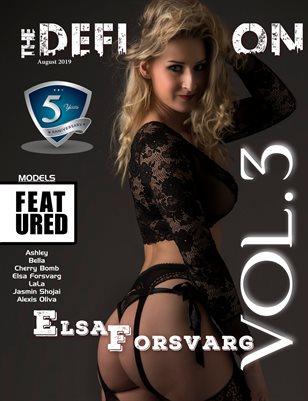 TDM: 5yr Anniversary Elsa Forsvarg Cover 1 Vol 3 August 2019