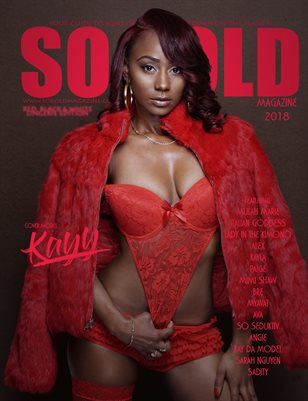 SO KOLD MAG - RED, BLACK & WHITE LINGERIE EDITION (KAYY COVER)