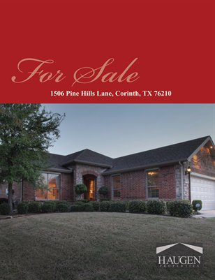 Haugen Properties -  1506 Pine Hills Lane, Corinth, Texas