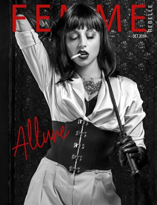 Femme Rebelle Magazine Oct 2019 ALLURE BOOK 1 - Villainess Cover
