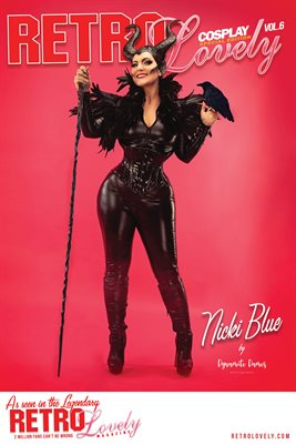 Nicki Blue Cover Poster