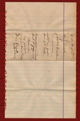 (PAGES 1-2) 1876 DEED H.A. BRYANT TO J.A. & C.C. GRAHAM