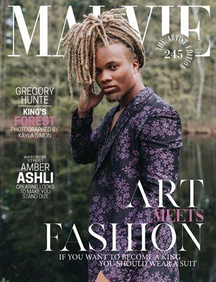 MALVIE Magazine The Artist Edition Vol 245 July 2021