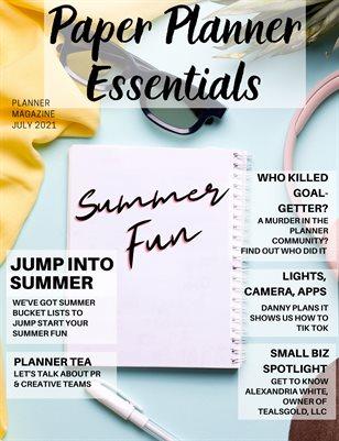 Paper Planner Essentials July 2021