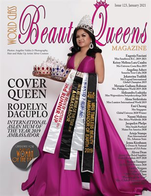 World Class Beauty Queens Magazine Issue 134 with Rodelyn Daguplo