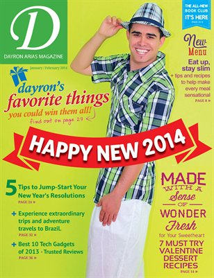 Dayron Arias Magazine - Jan/Feb 2014