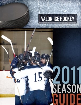 2011-2012 Ice Hockey Season Guide
