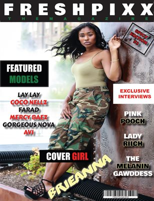 "FRESH PIXX THE MAGAZINE #3 ""SPICY"" EDITION"