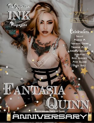 The Definition of INK: Fantasia Quinn 7yr Anniversary  Vol.1 Cover 3