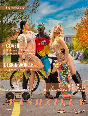 Fashzilla Magazine, September issue