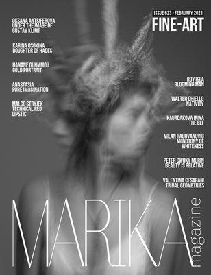 MARIKA MAGAZINE FINE-ART (ISSUE 623 - February)