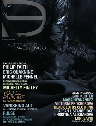 Dark Beauty Magazine ISSUE 18 - Alternative Weddings