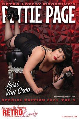 Bettie Page 2021 VOL.5 - Jessi Von Coco Cover Poster