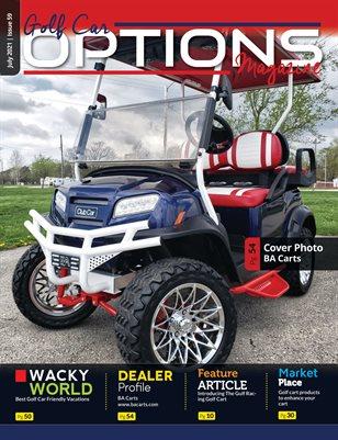 Golf Car Options Magazine - July 2021
