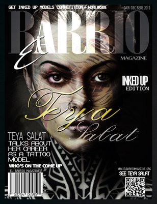 NOV/DEC 2013 INKED UP EDITION FT TEYA SALAT
